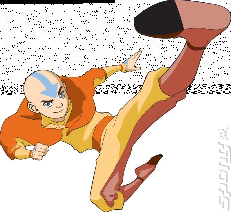 Avatar the legend of aang wii artwork
