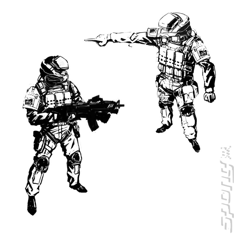 Como crear a tu propio Marine Espacial _-Blacklight-Tango-Down-PS3-_