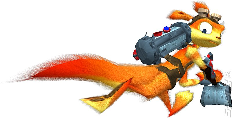 Daxter - PSP Artwork