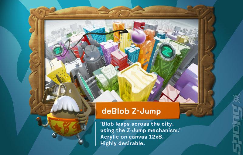 de Blob - Switch Artwork