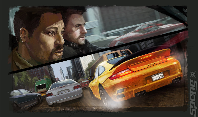 Driver: San Francisco - Xbox 360 Artwork