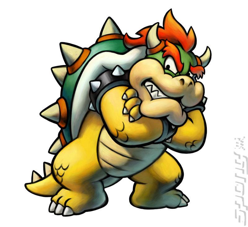 Artwork Images Mario Luigi Bowser S Inside Story Ds