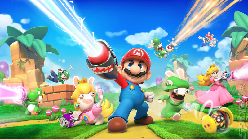 Mario + Rabbids Kingdom Battle - Switch Artwork