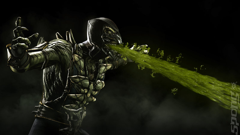 Mortal Kombat X - PS4 Artwork