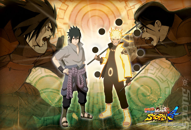 Naruto Shippuden: Ultimate Ninja Storm 4 - Xbox One Artwork