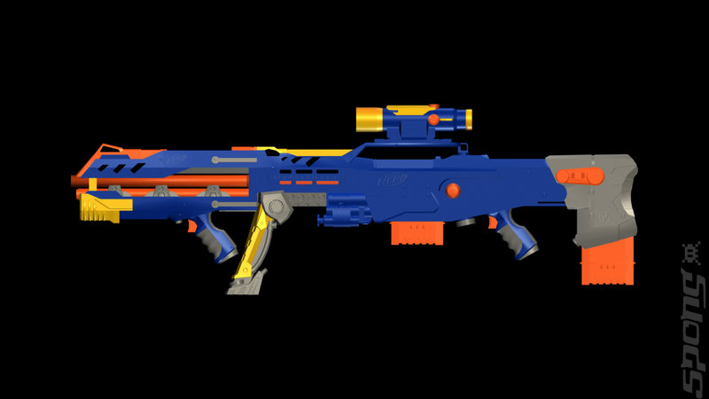 NERF N-STRIKE - Wii Artwork