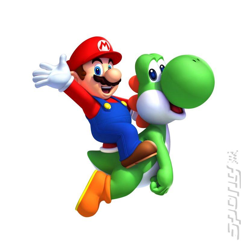 New Super Mario Bros. U - Wii U Artwork
