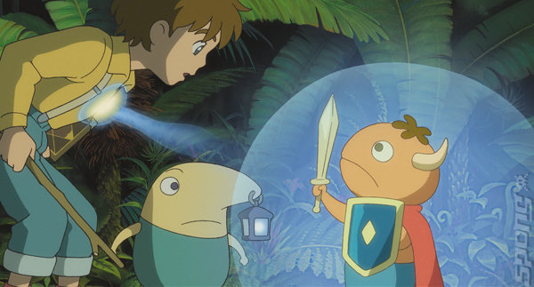 Ni No Kuni: The Wrath of the White Witch - PS4 Artwork