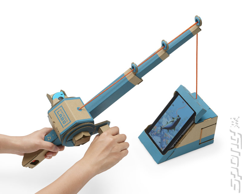 Nintendo Labo Variety Kit: Toy-Con 01 - Switch Artwork