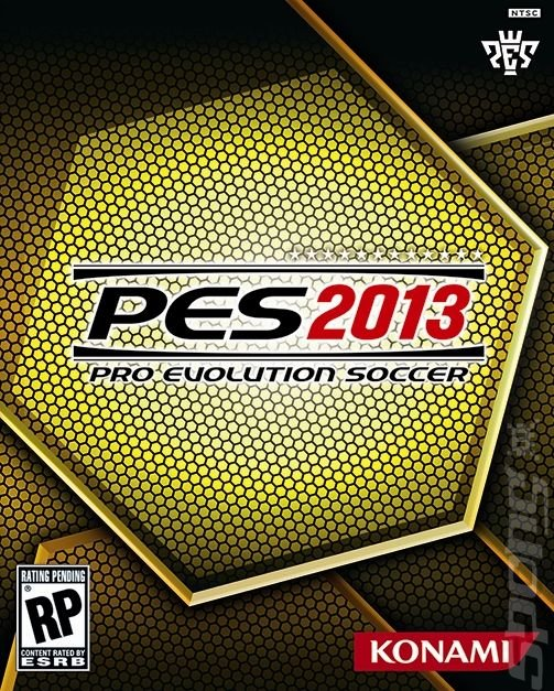PES 2013 - PS2 Artwork