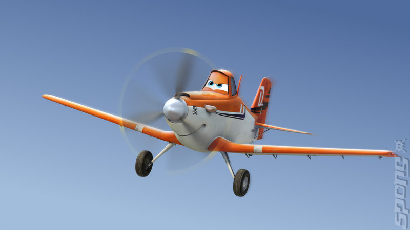 Disney: Planes - Wii Artwork