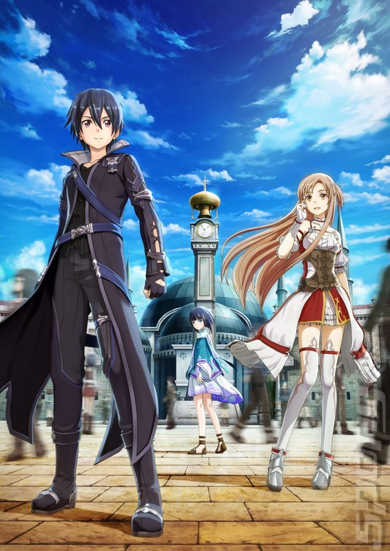 Sword Art Online: Hollow Realization - Switch Artwork