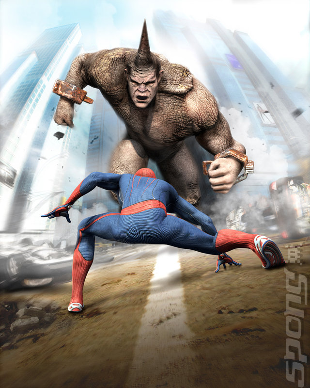 The Amazing Spider-Man - Xbox 360 Artwork