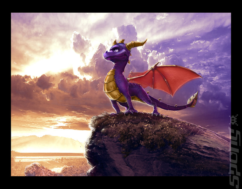The Legend Of Spyro: Dawn Of The Dragon - Wii Artwork