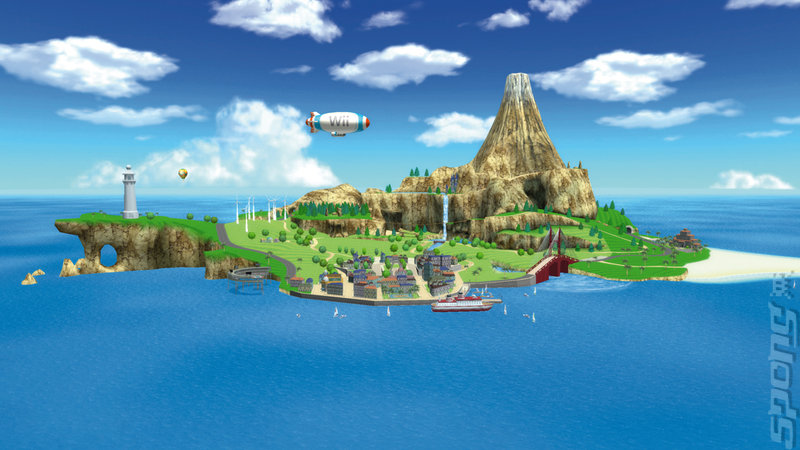 Wii Sports Resort - Wii Artwork