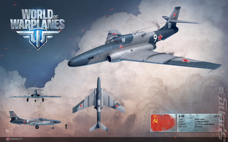 World of Warplanes - PC Artwork
