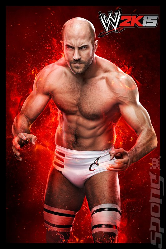 WWE 2K15 - Xbox 360 Artwork