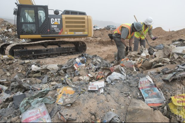 Could the Atari Landfill Happen Today? Editorial image