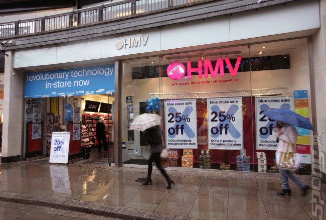 Digital Kills Retail - HMV Enters Administration News image