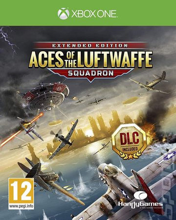 Aces of the Luftwaffe Squadron: Extended Edition - Xbox One Cover & Box Art