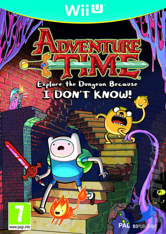Adventure Time: Explore the Dungeon Because I DON'T KNOW! - Wii U Cover & Box Art