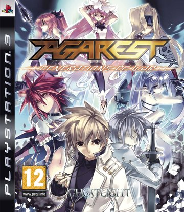 Agarest: Generations of War - PS3 Cover & Box Art