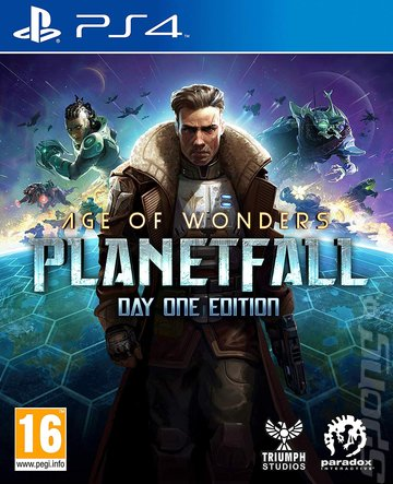 Age of Wonders: Planetfall - PS4 Cover & Box Art