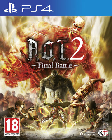 A.O.T. 2: Final Battle - PS4 Cover & Box Art