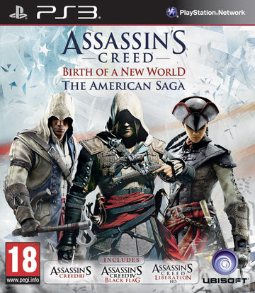 Assassin's Creed: Birth of a New World: The American Saga - PS3 Cover & Box Art