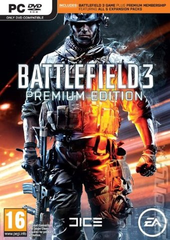 Battlefield 3: Premium Edition - PC Cover & Box Art