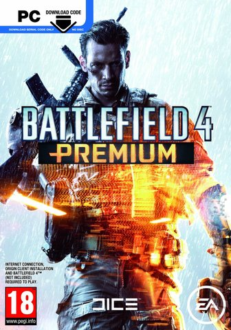 Battlefield 4: Premium - PC Cover & Box Art