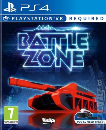Battlezone - PS4 Cover & Box Art