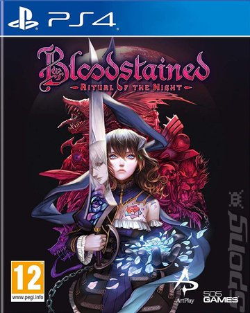 Bloodstained: Ritual Of The Night - PS4 Cover & Box Art