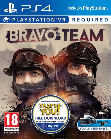 Bravo Team - PS4 Cover & Box Art