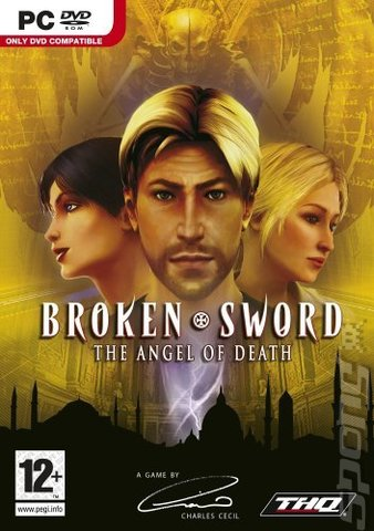 Broken Sword: The Angel of Death - PC Cover & Box Art