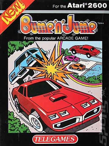 Bump N Jump Atari 2600 VCS