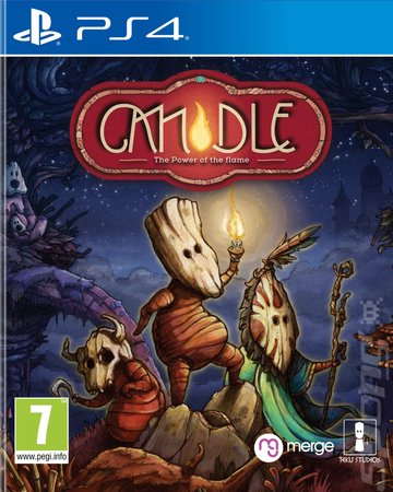 Candle: The Power of the Flame - PS4 Cover & Box Art