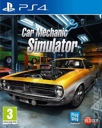 Car Mechanic Simulator - PS4 Cover & Box Art