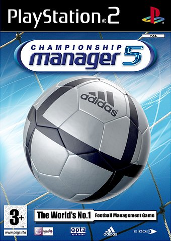 Championship Manager 5 - PS2 Cover & Box Art