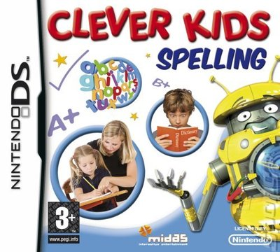 Clever Kids: Spelling - DS/DSi Cover & Box Art
