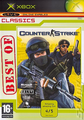 Covers Box Art Counter Strike Xbox 1 Of 3