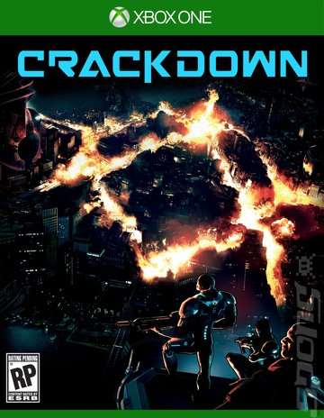 Crackdown 3 - Xbox One Cover & Box Art