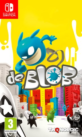 de Blob - Switch Cover & Box Art
