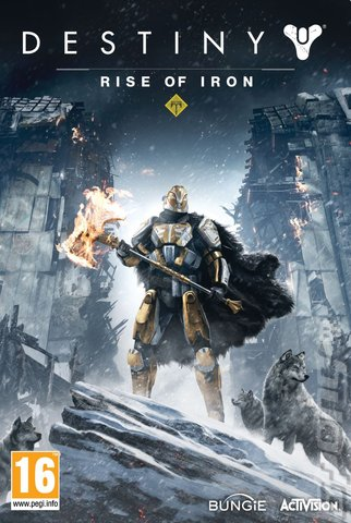 Destiny: Rise of Iron - Xbox One Cover & Box Art