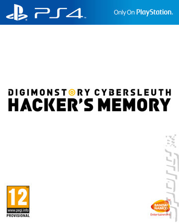 Digimon Story: Cyber Sleuth: Hacker's Memory - PS4 Cover & Box Art