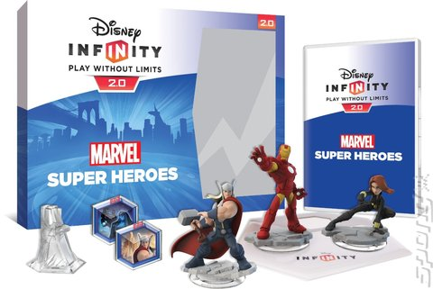 Disney Infinity 2.0: Marvel Superheroes - PS4 Cover & Box Art