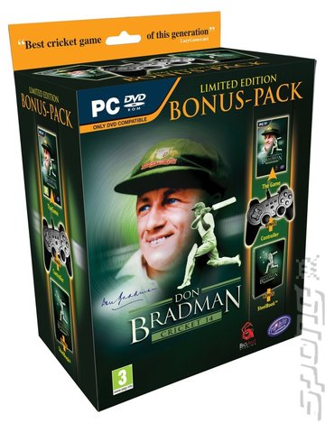 Don Bradman Cricket 14 - PC Cover & Box Art
