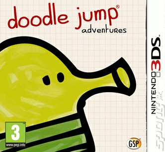 Doodle Jump Adventures - 3DS/2DS Cover & Box Art
