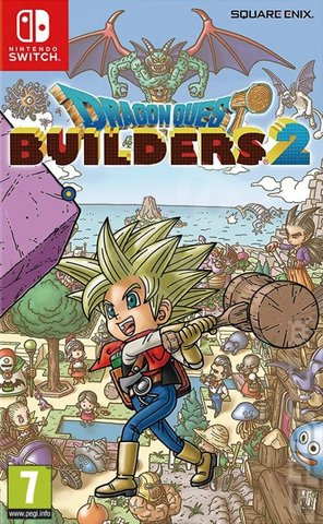 Dragon Quest Builders 2 - Switch Cover & Box Art