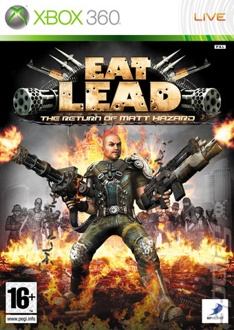 Eat Lead: The Return of Matt Hazard - Xbox 360 Cover & Box Art